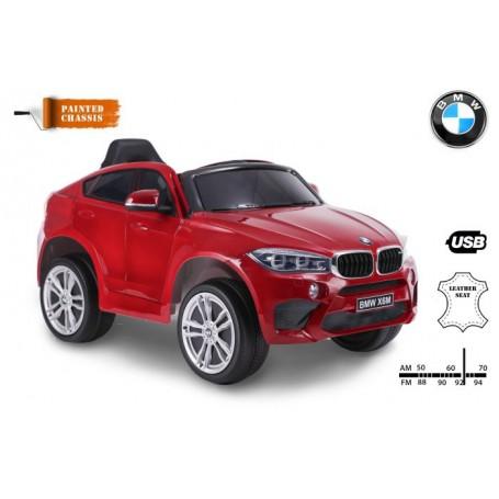 COCHE ELÉCTRICO PARA NIÑOS BMW X6M 12V RC MODELO 2019