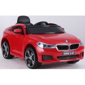 COCHE ELÉCTRICO PARA NIÑOS BMW 6GT  12V RC