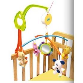 Móvil musical para la cuna del bebé