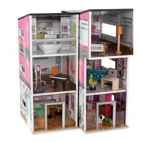CASITA DE MUÑECAS CONTEMPORARY DELUXE TOWNHOUSE KIDKRAFT