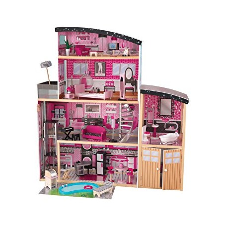 CASITA DE MUÑECAS SPARKLE MANSION KIDKRAFT