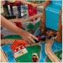 JUEGO DE MESA CON CIRCUITO DE TREN WATERFALL JUNCTION TRAIN KIDKRAFT