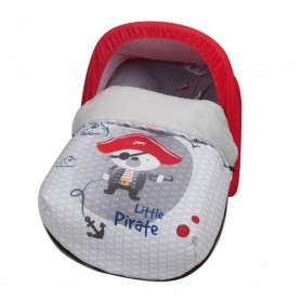 SACO PORTABEBÉ POLAR LITTLE PIRATE BABYLINE +CAPOTA REGALO