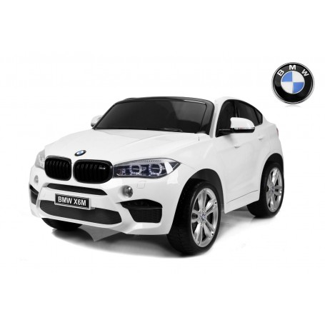 COCHE ELÉCTRICO PARA NIÑOS 2 PLAZAS BMW X6M 12V RC