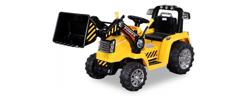 Tractores eléctricos para niños - pequenenes